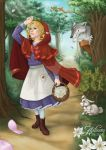 comm: Little Red Riding Hood 0 by Ailinon