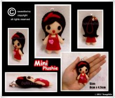 Cute Red Mini Plushie... by SongAhIn