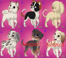 Point adoptables 3 by xDeadpuffx