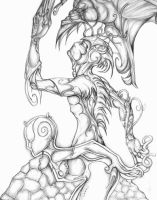 Pencil Character Design by Esdras78