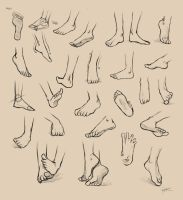 Feet Reference by Ninjatic