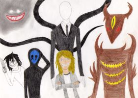 My favorite Creepypastas by Creepypasta-Fan