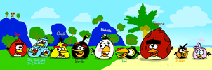 The Angry Birds by AngryBirdsStuff