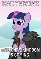 Brace yourselves, the Finale is coming! by SteamPoweredStallion