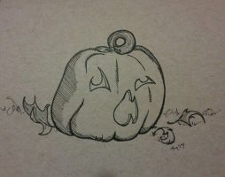 Inktober, 2014: October 2nd by Twitchy-Kitty-Studio