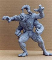Mortal Kombat Goro Action Statue- View 1 by MrDandy