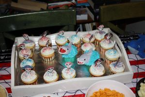 Pirate Cupcakes by Groovygirlsuzy17