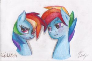 Double Rainbow by KeepCalmAndBeABrony