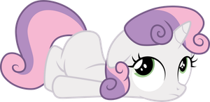 Sweetie Belle by CloudyGlow