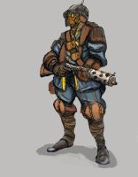 Mercenary Gunner 01 by TheLivingShadow