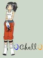 Portal 2 Chell by yellowpop