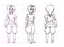 Vark Model Sheet by RinTarin
