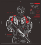 ATLAS Suit - COD AW by ky27
