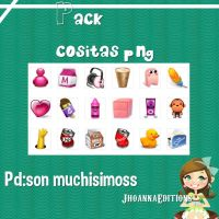 Pack Cositas Png by JhoannaEditions