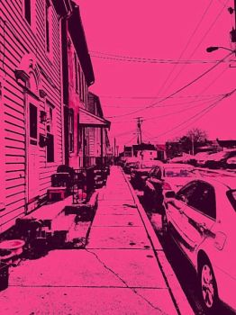 Liberty Ave in Pink by sweetimages