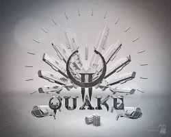 Quake 2 wallpaper by krolone