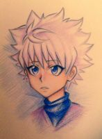 Killua Zoldyck by popomeow
