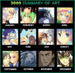 2009 Summary of Art by Uberzers