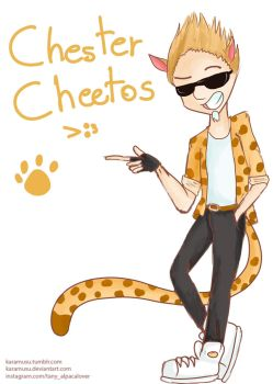 Chester Cheetos by Karamusu