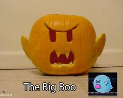 The Big Boo Jack-O-Lantern by mikee99