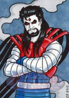 Mr Sinister AoA Sketch Card by ElainePerna