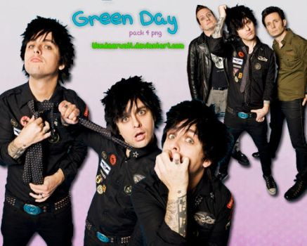 Green Day Pack 4 Png by wondeerwall