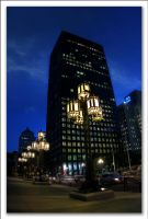 Montreal at Night 23 by Pathethic