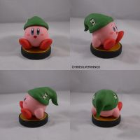 Kirby Link Hat Amiibo by ChibiSilverWings