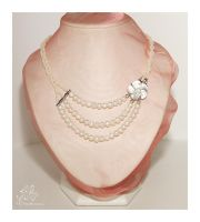 River Pearls necklace N97 by AnnAntonina