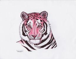 .FInished Tiger. by CheshireSmile