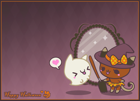 Boo to you Too -Wallpaper- by Mazzlebee