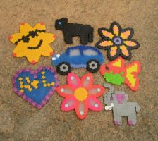 Melty bead creations by PonderosaPower