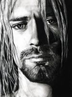 Kurt Cobain. by StarlightShimmers