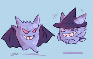 Halloween Ghosts by Sizab