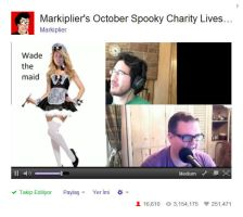 #WADETHEMAID (FIRST LIVESTREAM) by tfelita