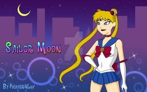 Sailor Moon Warner Bros. style by Fighter4luv