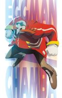 Fat guy in Red Coat by theCHAMBA