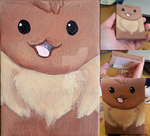 An Itty Bitty Eevee by TaksArt