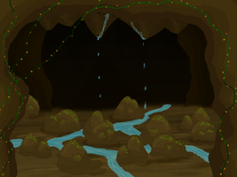 Inner Cave Map by caughtinthehurricane