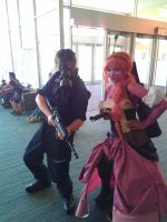 NF Comicon : Me and The Lady In Pink by TheWarRises