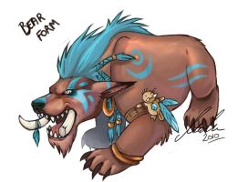 Troll Druid Bear Form by malta
