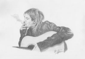 Kurt Cobain by igor7354