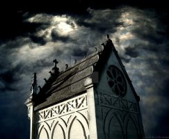 Tomb in the dark by Gothicmama