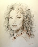 Alex Kingston by Mevrona