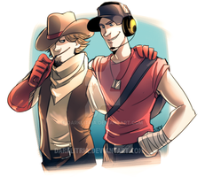 TF2: First Scout by DarkLitria
