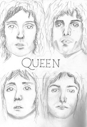 Minimal Queen by afishcallednat