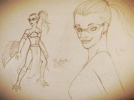 Bethia-Character Sketch by SilvianArt
