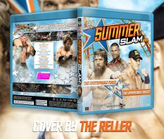 SummerSlam 2013 Custom Blu-Ray Cover by TheReller