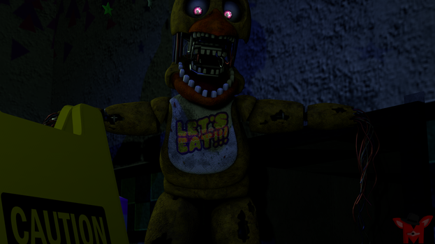 FNaF SFM: Caution of the Chicken by Mikol1987