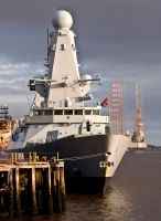Destroyer HMS Duncan VII by DundeePhotographics